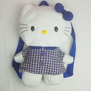 Rare 2001 Sanrio Hello Kitty plush backpack